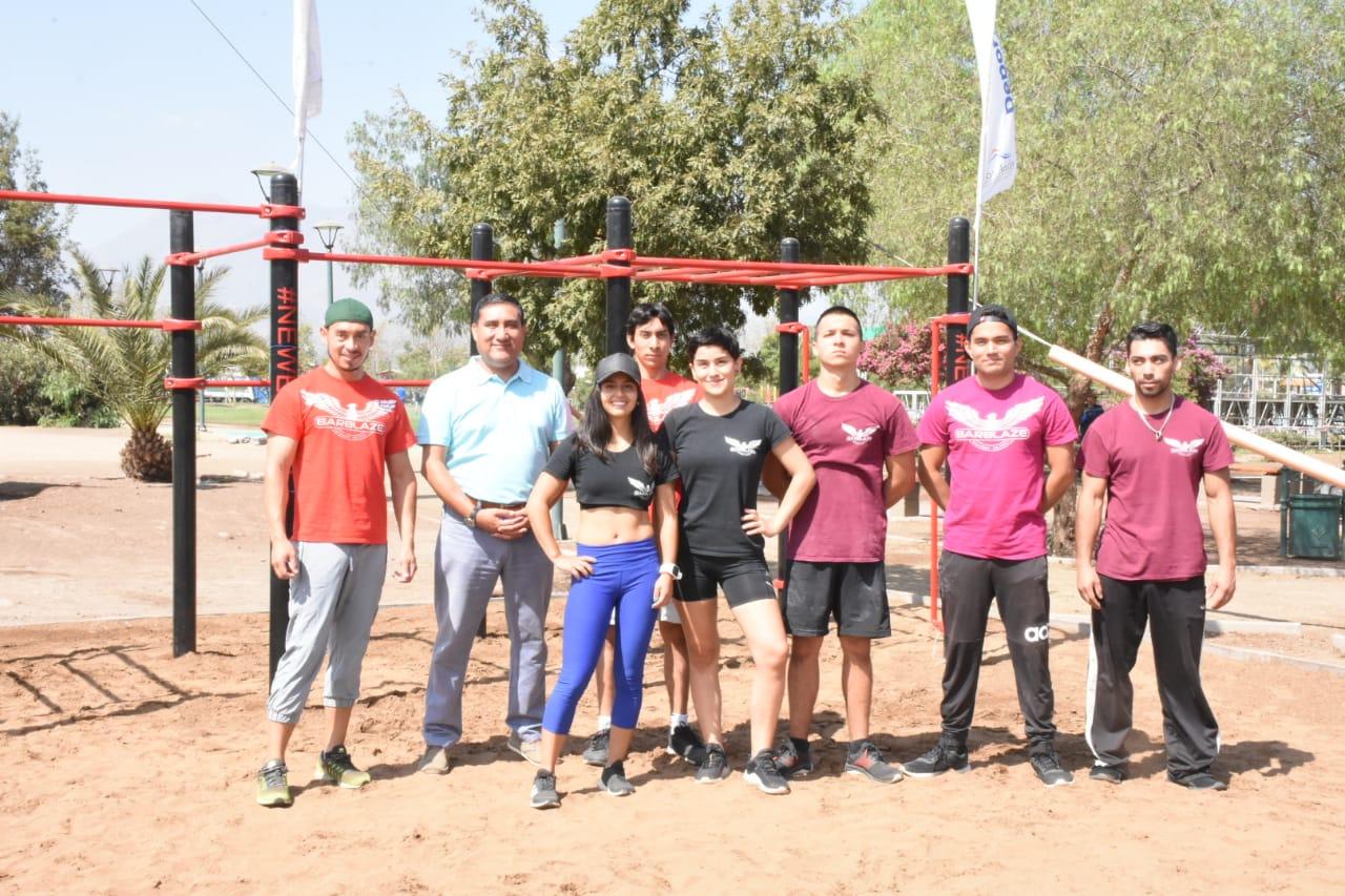 DEPORTE: Municipio andino entrega primer parque de Calistenia a la comunidad